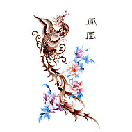 5 unidades por Phoenix tatuaje temporal a prueba de agua (17,5 cm * 10cm)