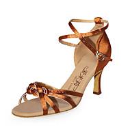 Sapatos de Dança Latina em Cetim (Várias Cores)