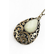 50mm*40mm Acrylic Alloy Necklace