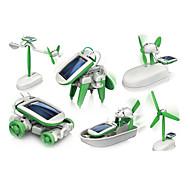 Napelemes játékok Zöld Műanyag