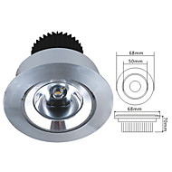 1W LED Spotlight in Warm White Light Source