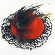 Celada Sombreros Boda/Ocasión especial/Casual/Oficina/Al Aire Libre Aleación/Encaje Mujer/Niña de florBoda/Ocasión