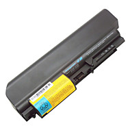 "9 cell Battery for Lenovo ThinkPad R61 T61 R61I T61P Series(14.1"" widescreen) R400 T400 42T5225 43R2499 42T4530 42T4531"