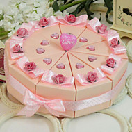 herrlich rosa Kuchen zugunsten Box (10 Stück)