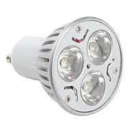 Spot Blanc Naturel MR16 GU10 3 W 3 LED Haute Puissance 270 LM K AC 85-265 V