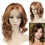 täynnä pitsiä (ranska pitsi) 100% ihmisen Remy hiukset Jessica Biel: n hiustyyli peruukki