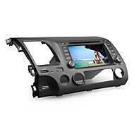 7 tommers bil dvd spiller for Honda Civic 2006-2011 (gps, bluetooth, tv)