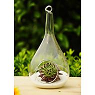 Table maîtresses abandon artistique deocrations de table suspendue en forme de vase en verre