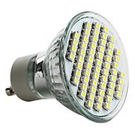 GU10 3.5 W 60 SMD 3528 180 LM Natural White MR16 Spot Lights AC 220-240 V