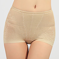 Cotton Waist Control Shaping Panties With Embroidery(More Colors) Sexy Lingerie Shaper