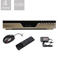 сверхнизкой цене 4-канальный H.264 DVR (VGA выход, сеть)