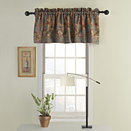 Valance Tailored Floral , 100% Polyester