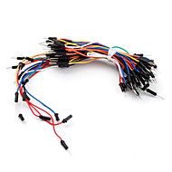 Elektronik DIY-Lot weniger flexibel Steckbrett Jumper-Kabel Drähte 65pcs