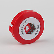 Personaliseret-Kontorbrug(Rød) -Klassisk Tema Hård Plastik