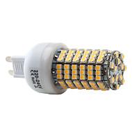 7W G9 Ampoules Maïs LED T 138 SMD 3528 450 lm Blanc Chaud AC 100-240 V