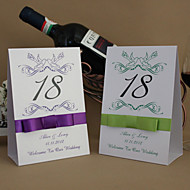 Place Cards and Holders Elegant Lovebirds  Table Number Card (Set of 10)