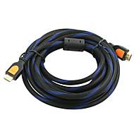 5m 15ft v1.3 1080p HDMI samec na mužskou vysokorychlostní standardní kabel HDMI
