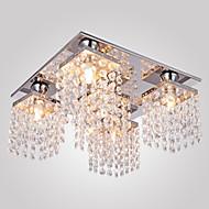 Kattovalaisin, 5 lamppua, Kristalli, Moderni