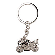 μεταλλικό ασημί keychain δροσερό μοτοσικλέτας