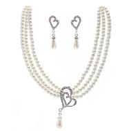 Ladies'/Unisex/Women's Alloy/Imitation Pearl Jewelry Set Imitation Pearl