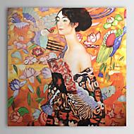 dipinti a mano Gustav Klimt dipinto a olio con telaio allungato