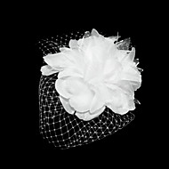 Women's Satin/Tulle Headpiece - Special Occasion Fascinators/Flowers