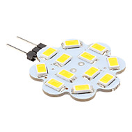 Lampes à Deux broches Blanc Chaud G4 3 W 12 SMD 5630 270 LM DC 12 V