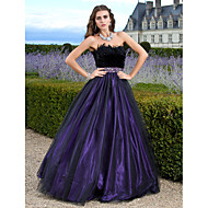 Prom/Formal Evening/Quinceanera/Sweet 16 Dress - Regency Plus Sizes Ball Gown/A-line/Princess Strapless Floor-length Tulle