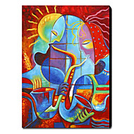 Mão Pintura abstrata pintada a óleo 1211-AB0261