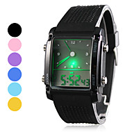 Men's Watch Sports LED Analog-Digital Display Multi-Function Cool Watch Unique Watch Fashion Watch