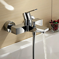 Sprinkle® by Lightinthebox - Single Handle Chrome Finish Wall Mount Bathtub Faucet