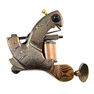 Wire Cutting Damascus Steel Tattoo Machine Gun for Shader