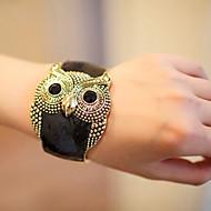 Vintage Uil Dames Brede armband