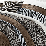 Animal Velvet Duvet Cover Sets
