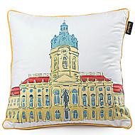 Velvet Pillow Cover , Cities Modern/Contemporary