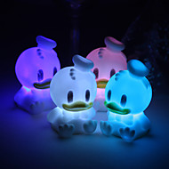 Wedding Décor Lovable Vinyl Ducky LED Lamp - Set of 4 (Color Changing, Built-in Botton Cell)