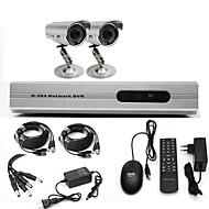 Sistema Anko-CCTV con 2 cámaras exteriores para hogar y oficina (para DIY)