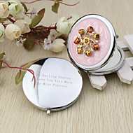 Personalisert-Compacts-Blomster TemaKrom)