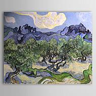 Pintados à mão Famoso 1 Painel Tela Pintura a Óleo For Decoração para casa