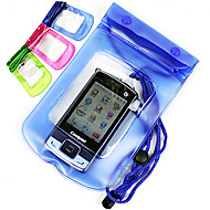 Waterproof Case/Pouch/Bag Fishing - 1 pcs - Waterproof Green / Pink / Blue Soft Plastic - for Mobile Phone and Camera General Fishing