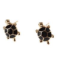 Earring Stud Earrings Jewelry Women Daily Alloy Gold