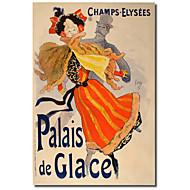 Painettu Canvas Art Vintage Palais de Glace by Vintage Julisteet venytetty Frame