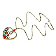 Women's Alloy Necklace Daily/Causal Crystal