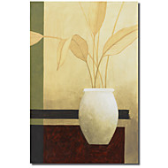 Impreso Pantalla Vase por Pablo Esteban con el marco de estirado