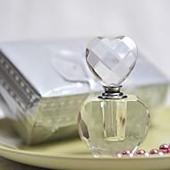 geschenken bruidsmeisjegift mooie hartontwerp kristallen parfumflesje