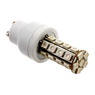 GU10 5W 30x5050SMD 300-360LM Blue Light LED Corn Bulb (85-265V)