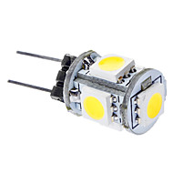 daiwl g4 1w 6000-6500k 65-75lm 5x5050smd luonnon valkoinen valo johtanut autojen lamput (DC 12V)