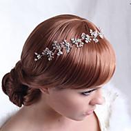 Luxe Alloy Ambachtelijk Bloemen met strass en Crystal Wedding Bridal Zendspoelen