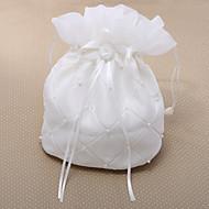 Delicate überprüft Hochzeit Braut Geldsack mit Imitation Perle