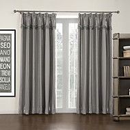 TWOPAGES® Two Panels  Stripe Mordern Room Darkening Curtain